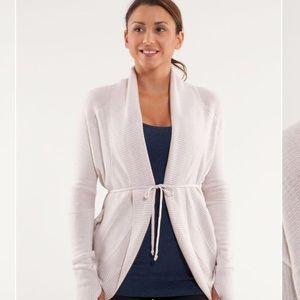 Lululemon Transformation Wrap Sweater Size 4